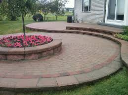 Cutting Patio Pavers Brick Pavers Canton Plymouth Northville Ann Arbor Patio Patios
