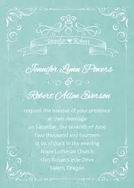 wedding invitations minted affordable vintage teal watercolor wedding invitations ewi338 as