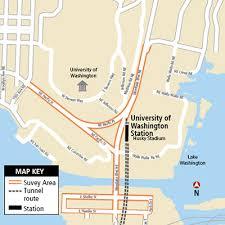 parking at husky stadium light rail neighborhood parking plan sound transit