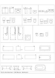 bloc autocad cuisine dessin wc pour autocad beau inspiration salle de bain pmr dwg con