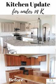 before and after pictures of painted laminate kitchen cabinets painting laminate cabinets the right way without sanding