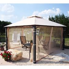 Patio Tent Gazebo Academy 12 X 12 Square Two Tiered Gazebo Replacement Canopy
