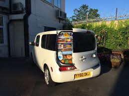 nissan cube interior roof white goods nissan cube six weeks on u2013 driven to write