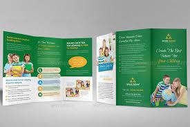 tri fold school brochure template education school trifold brochure template by janysultana