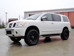 2017 customer review of new nissan armada lift kit sport cars