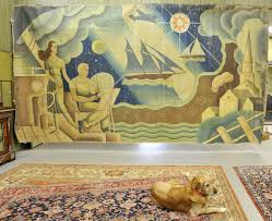 dennis auction house hopes maritime murals find right home news