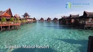 sipadan mabul resort redefining travel 2013 youtube