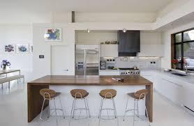 Black White Kitchen Island Interior by Apartment Kitchen Modern Contemporary Black And White Staradeal Com