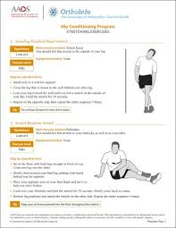 Lower Back Stretches In Bed Hip Conditioning Program Orthoinfo Aaos