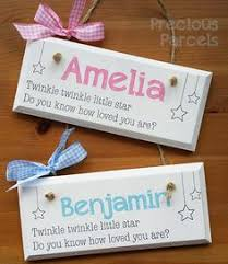 baby plaques personalized personalised new baby wooden plaques and signs personalised with
