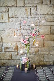 tree branch centerpiece candles on tree branches centerpiece elizabeth designs the