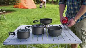 alps mountaineering roll up camp table aluminum youtube