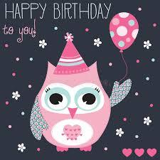 Happy Birthday Owl Meme - happy birthday owl vector illustration stock vector illustration