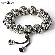fine charm bracelet images Charm bracele fine retro tibetan buddhism thai silver plated rope jpg