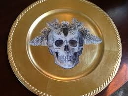 halloween plates halloween collage charger plates a moment of being