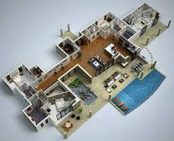 House Design With Floor Plan 3d 37 Best Plans Floorplans Drawing House Plano Arquitectonico