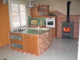 cuisine en brique vos photos de cuisines amenagement de cuisine