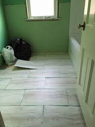Vinyl Floor In Bathroom Ideas Vinyl Flooring Of Which Direction Should I Lay The 12 24