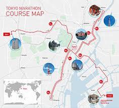 Nyc Marathon Route Map by Tokyo Marathon Feb 25 2018 World U0027s Marathons
