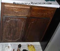 Cabinet Polish Before On The Left After On The Right Home Pinterest