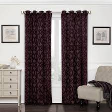 Blackout Curtain Panels With Grommets Eclipse Cassidy Blackout White Polyester Grommet Curtain Panel 84