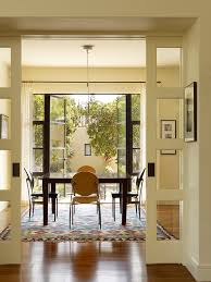 Painting French Doors Dining Room Traditional With Round Dining - Dining room with french doors