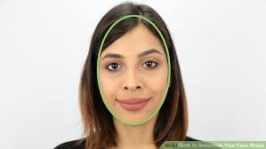 oblong face low hairline 3 ways to determine your face shape wikihow