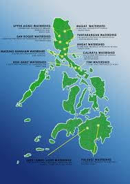 Luzon Map North Luzon Watershed