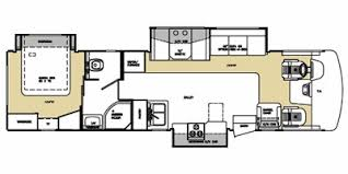 Georgetown Floor Plan Full Specs For 2008 Forest River Georgetown 340ts Rvs Rvusa Com