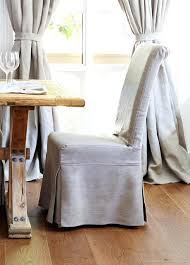linen dining chair linen slipcovered dining chairs onthehotel us