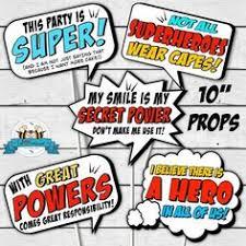 Superhero Photo Booth Superhero Birthday Party Free Printables Superhero Superhero