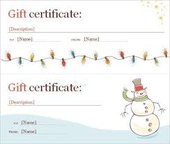gift certificate template word 2007 certificates officecom gift