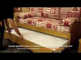 canapé gigogne montagne canapé gigogne en épicéa massif tissu de fabrication française