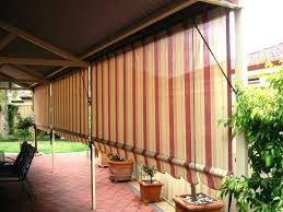 bamboo rollup blinds patio home design ideas and pictures