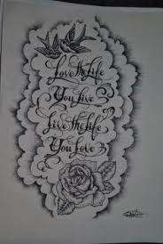 half sleeve designs black and white for