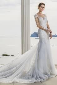 robe de mariã e traine robe de mariée sirène manches et longue traine collection avant