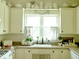 Kitchen Bay Window Curtain Ideas Brown Espresso Wood X Flor Table With Drawer Kitchen Bay Window