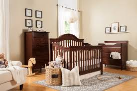 Davinci Emily Mini Crib Espresso by Jayden Nursery Collection Davinci Baby