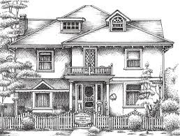 The Basic House by House Drawing Picture Sketch U2013 Modern House