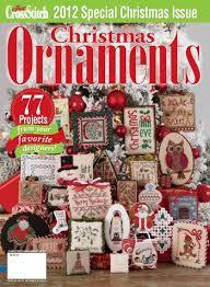just cross stitch 2012 ornament issue magazine