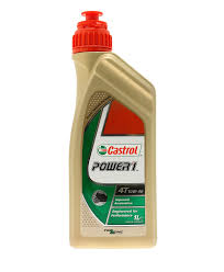 power 1 scooter engine oil 4τ 10w 40 1 liter