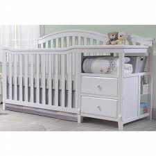Sorelle Convertible Crib Sorelle Berkley 4 In 1 Convertible Crib And Changer White Shop