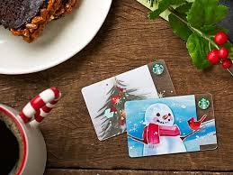 starbucks christmas gift cards easy gift ideas for your coworkers from starbucks coffee