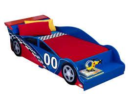 kidkraft racecar toddler car bed u0026 reviews wayfair