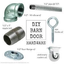 Barn Style Door Hardware How To Build Sliding Barn Door by Barn Door Hardware Downstairs Bobby U0027s Room Pinterest Barn