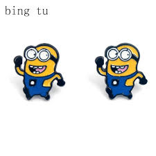 minion earrings buy minions earrings and get free shipping on aliexpress