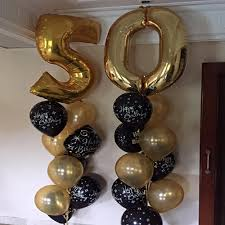 50th birthday balloon bouquets birthday celebrations bouquet