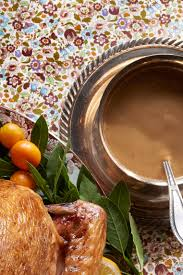 bay leaf and orange gravy