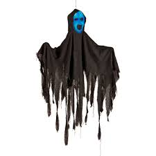 halloween ghost lights lemax indoor outdoor black hanging ghost halloween decoration u2014kmart