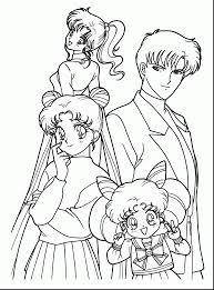 impressive anime sailor moon coloring pages with sailor moon